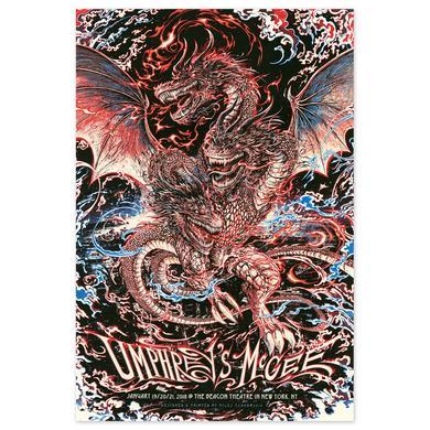 Umphrey's Mcgee Miles Tsang New York City Poster
