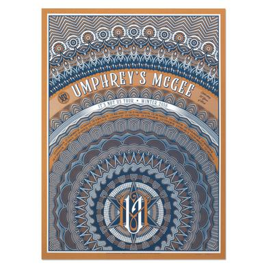 Umphrey's Mcgee Winter Tour 2018 Poster by Kyle Baker
