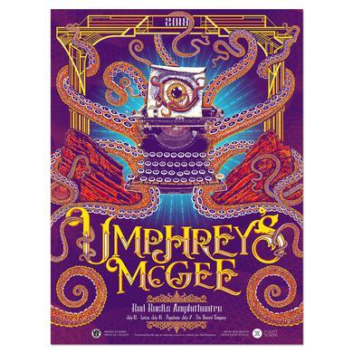 Umphrey's Mcgee Red Rocktopus AR Poster