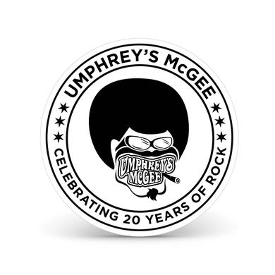 Umphrey's Mcgee Afroman 20 Year Anniversary Sticker