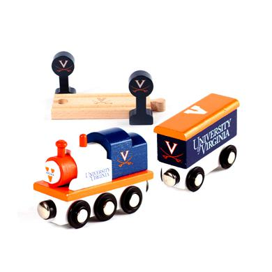 UVA Athletics University of Virginia Toy Train Set