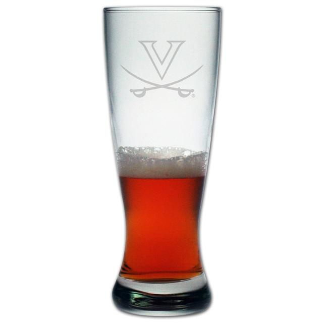 UVA 20oz Etched Grand Pilsner Glass