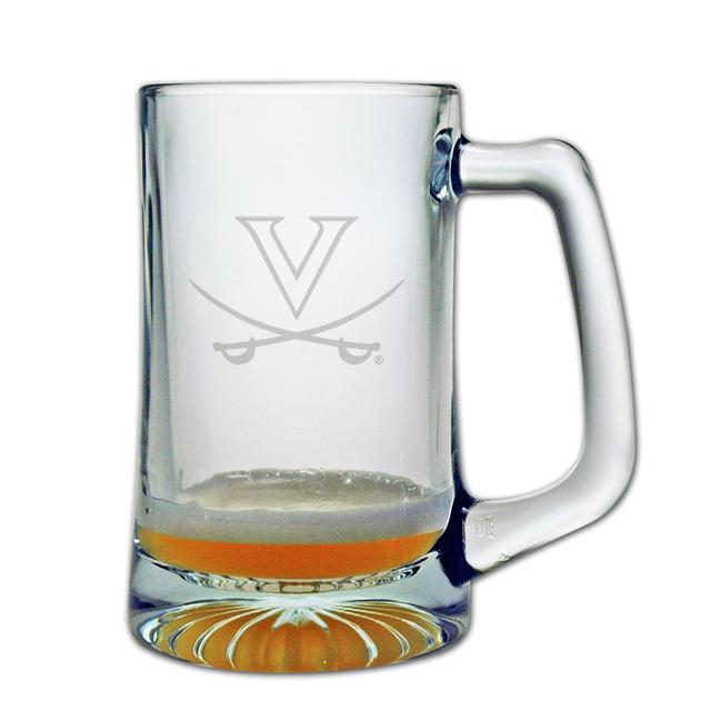 UVA 15oz Etched Tankard Glass