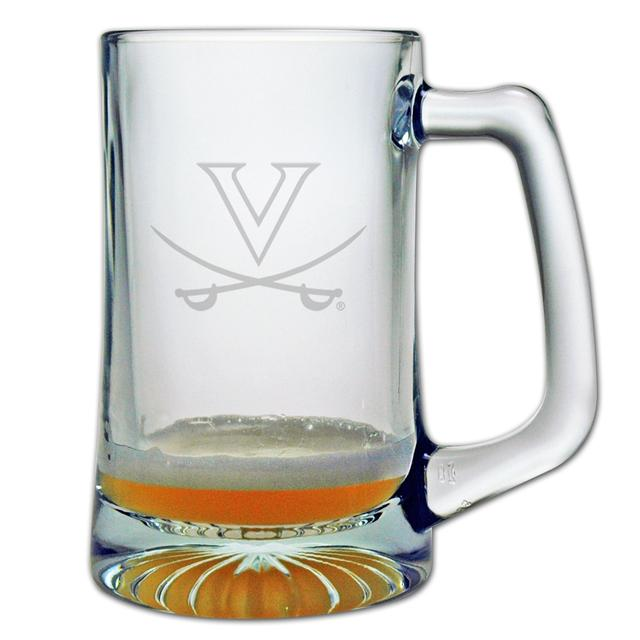 UVA 25oz Etched Tankard Glass
