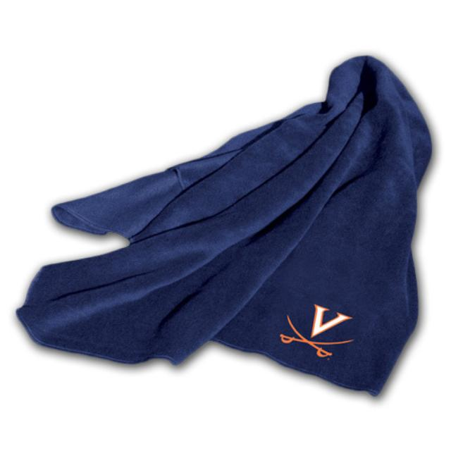 UVA Fleece Throw Blanket