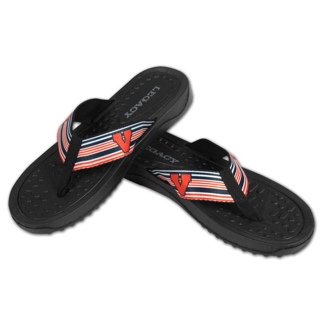 UVA Mens Beachcomber Sandals - Pin Stripe
