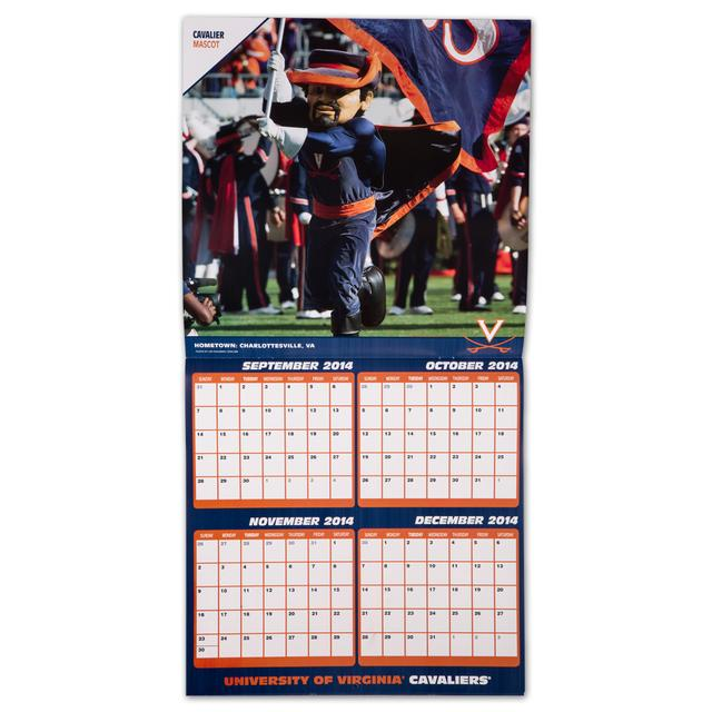 "UVA 2015 12x12"" Team Wall Calendar"