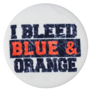 UVA I Bleed Blue & Orange Fabric Fan Magnet