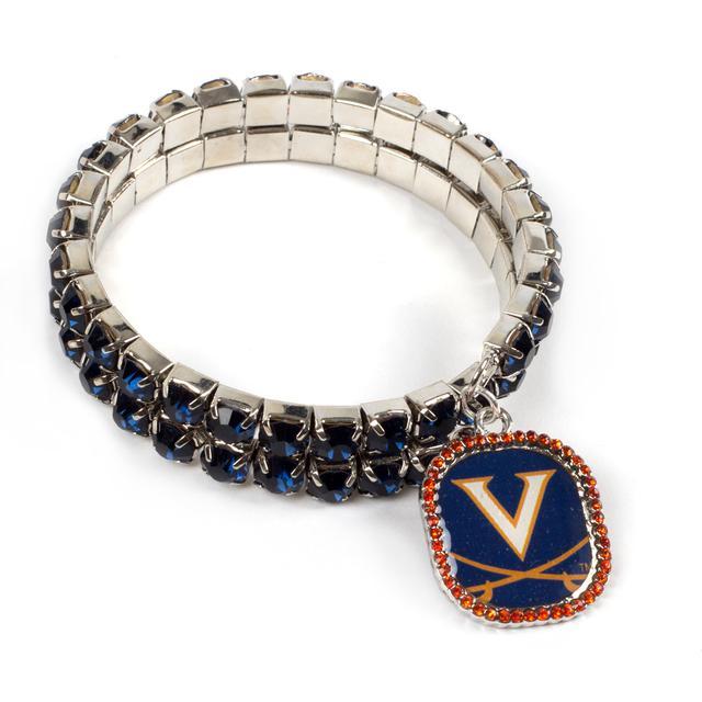 UVA Double Bling Bracelet