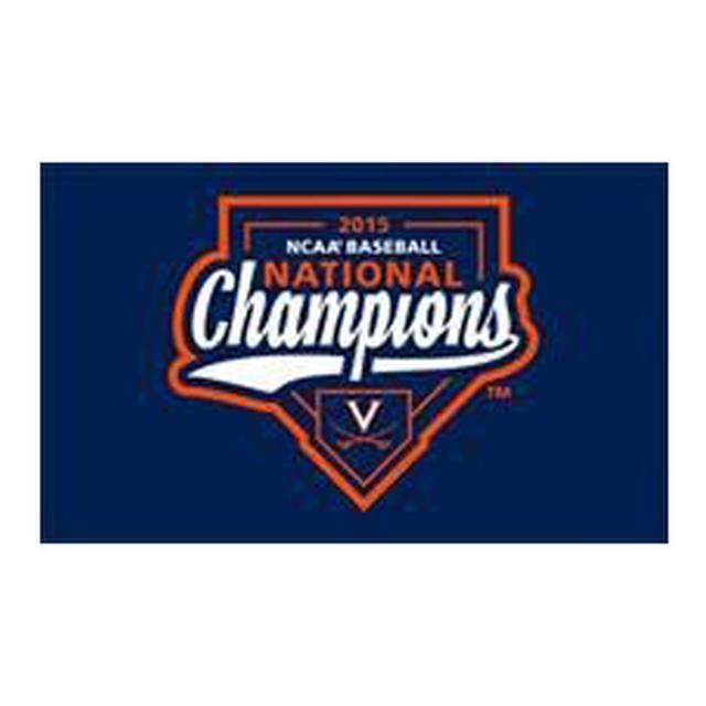 UVA CWS Champions House Flag