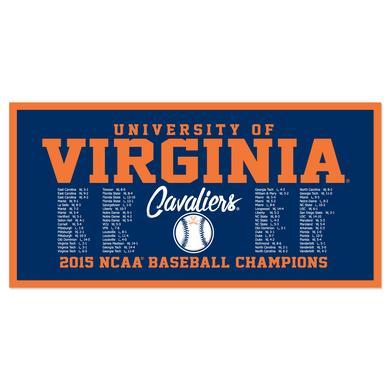 "UVA CWS Champions Premium 18"" x 36"" Banner"