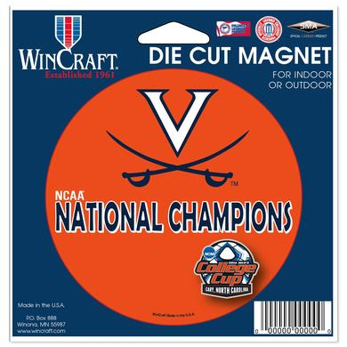 UVA Men's Soccer NCAA Champions Magnet