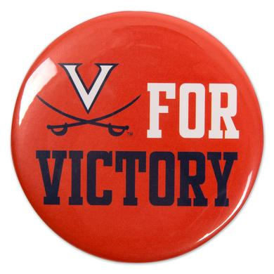 "UVA V for Victory 3"" Button"