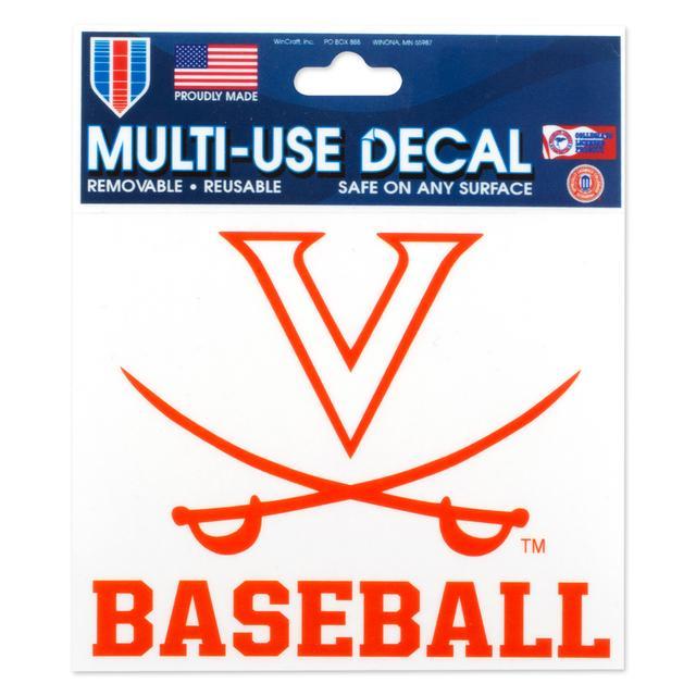 UVA Baseball 3 x 4 Multi Use Decal