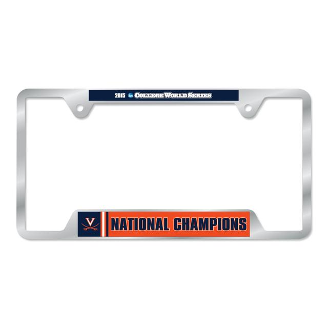 UVA CWS Champions Metal License Plate Frame