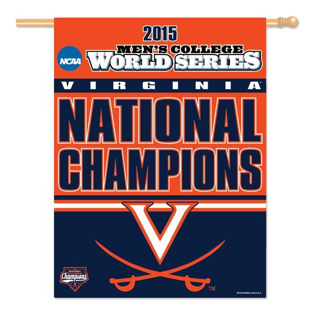 "UVA CWS Champions Vertical Flag 27"" x 37"""