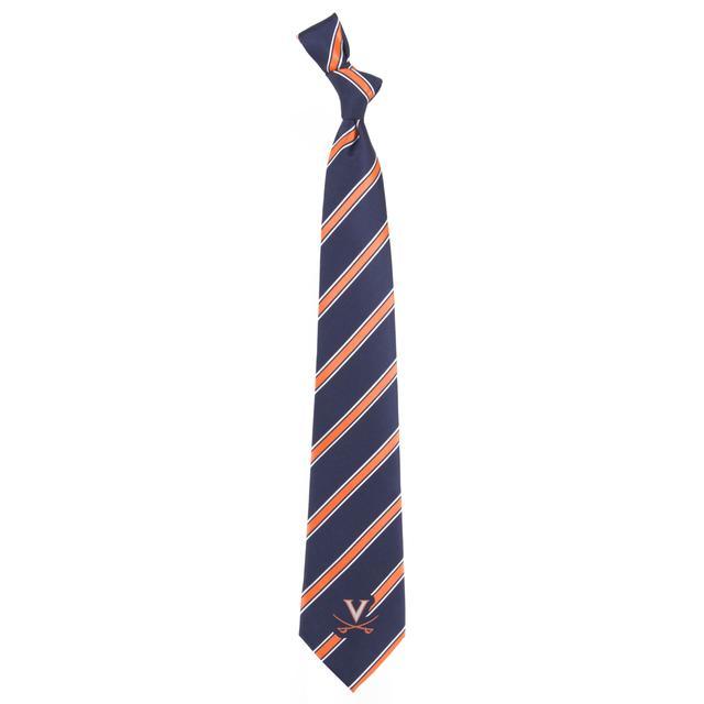 UVA Athletics Virginia Woven Poly Tie