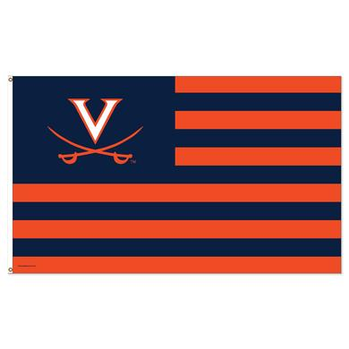 UVA Stars and Stripes Flag
