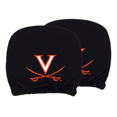 UVA Athletics University of Virginia Headrest Cover Set (Set of 2)