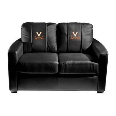 UVA Athletics Virginia Cavaliers Collegiate Silver Love Seat