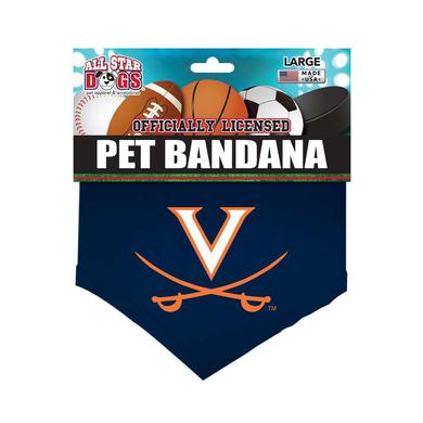 UVA Athletics University of Virginia Cavaliers Pet Bandana