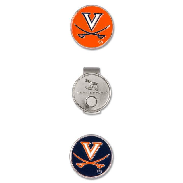 UVA Hat Clip & Ball Markers