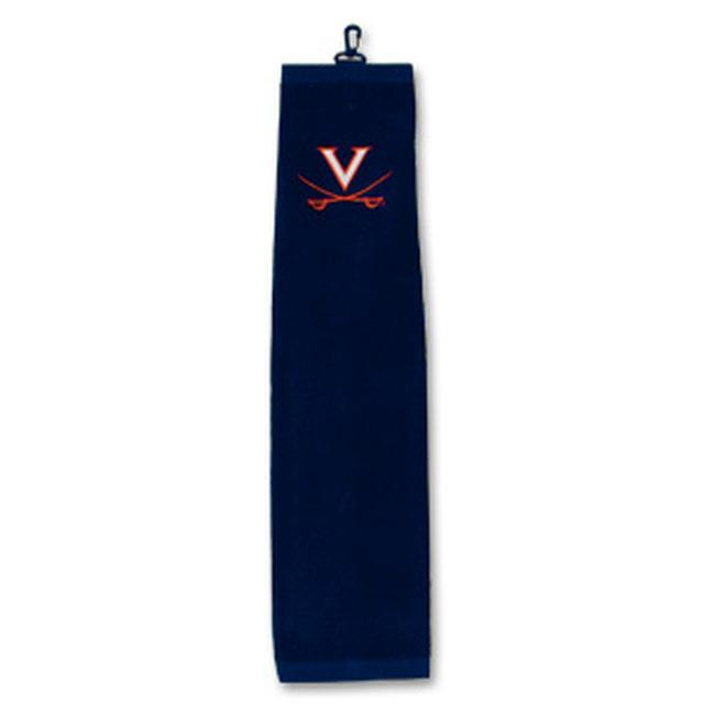 UVA Tri-Fold Golf Towel