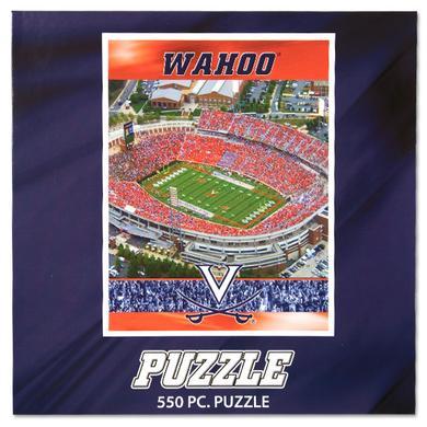UVA 550 Piece Scott Stadium Puzzle