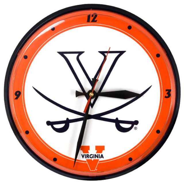 UVA Round Wall Clock