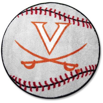 UVA Baseball Rug
