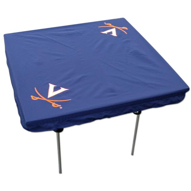 UVA V Sabre Card Table Cover