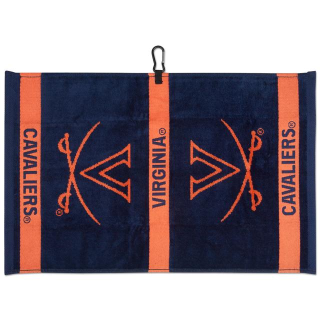 UVA Cavaliers Woven Jacquard Golf Towel