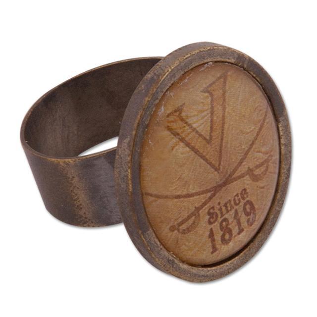 UVA Vintage Saber Brass Ring