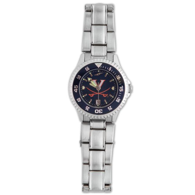 UVA Anachrome Ladies Competitor Steel Bezel Watch