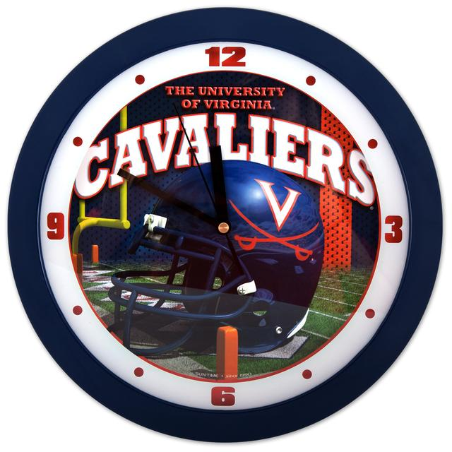 UVA Helmet Wall Clock