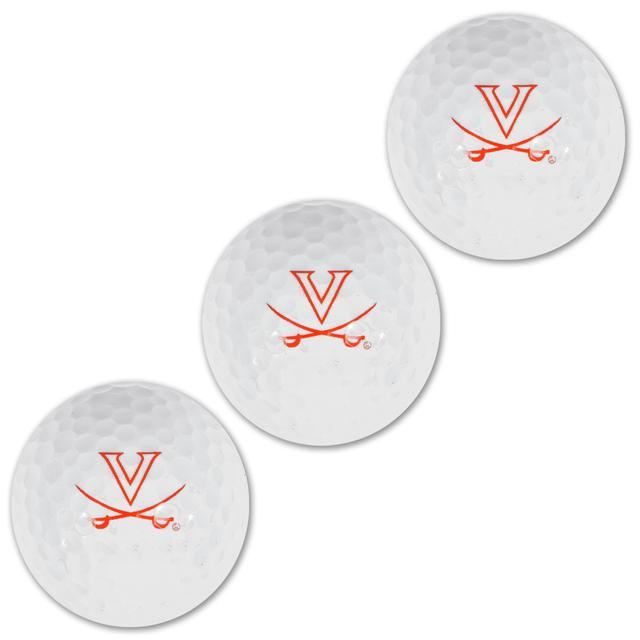 UVA Golf 3-Ball Sleeve