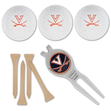 UVA Golf Ball / Kool Tool Gift Set