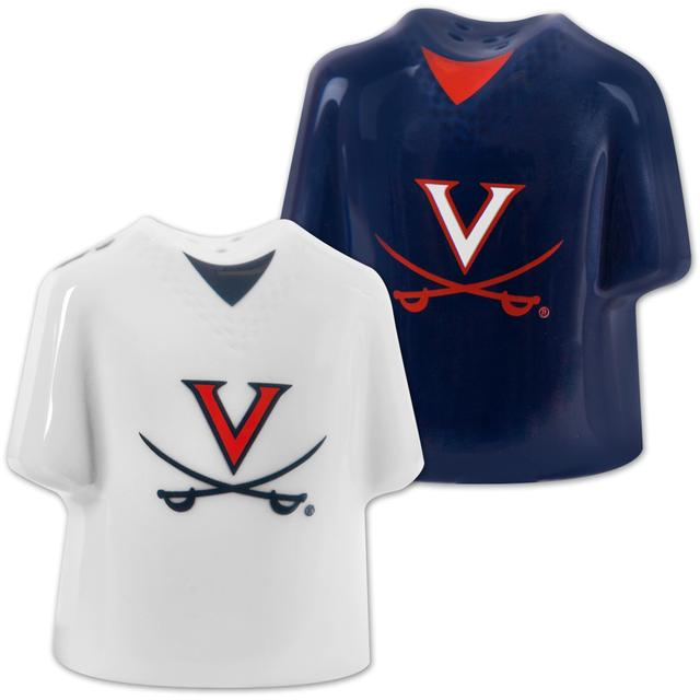 UVA Football Jersey Salt & Pepper Shakers