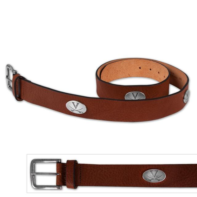 UVA Relaxed Vintage Tan Leather Belt