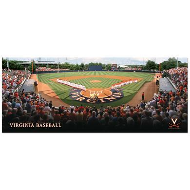UVA Davenport Field Poster