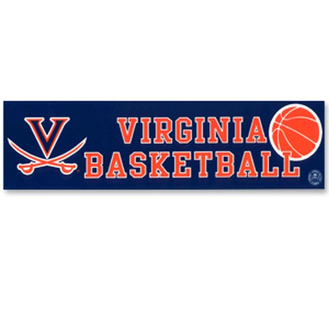 UVA Basketball Bumper Sticker