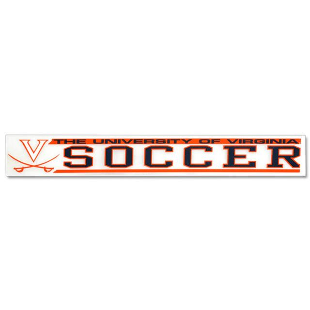 UVA Soccer Decal