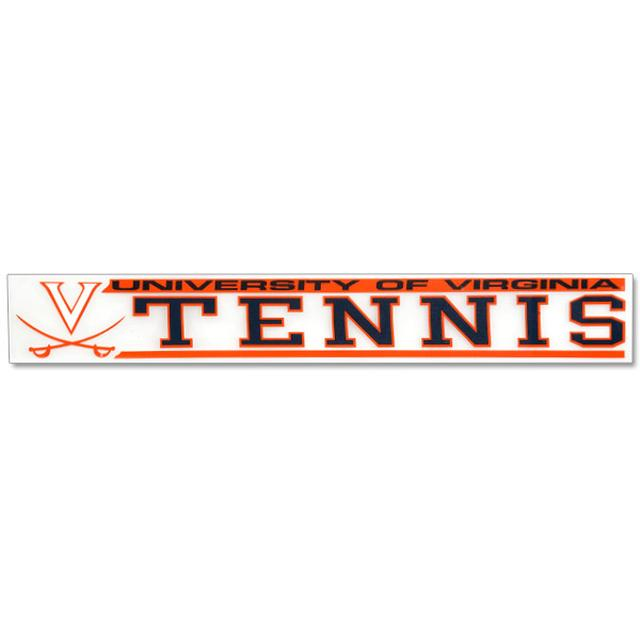 UVA Tennis Decal