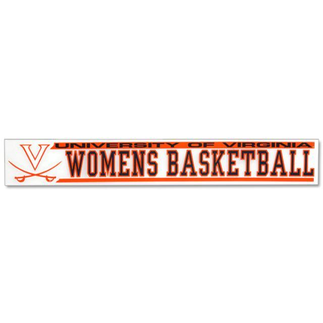 UVA Ladies Basketball Decal