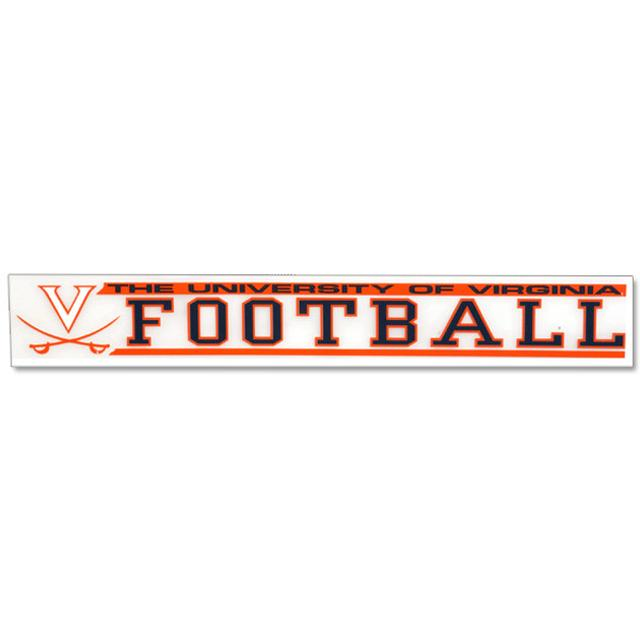 UVA Football Decal