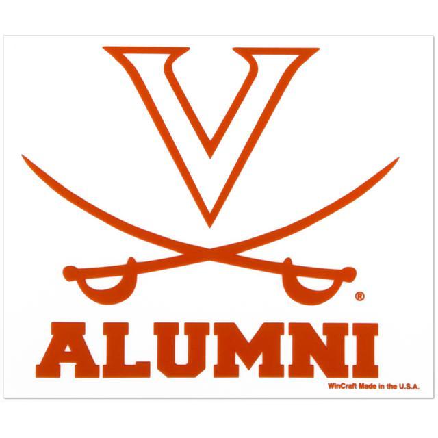"UVA 3x4"" Saber Alumni Ultra Decal"