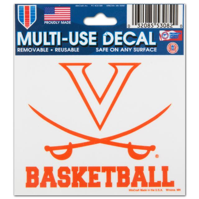 UVA Basketball - 3X4 Ultra Decal