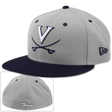 UVA Baseball New Era On-Field Practice Fitted Replica Cap