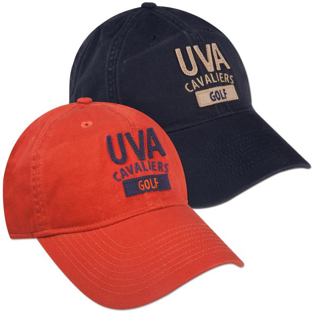 UVA Golf EZ Twill Adjustible Cap