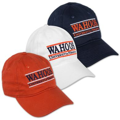 UVA The Game WAHOOS Bar Cap